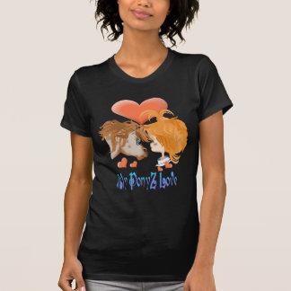 Mi PonyZ y mismo y camisa verdadera del amor