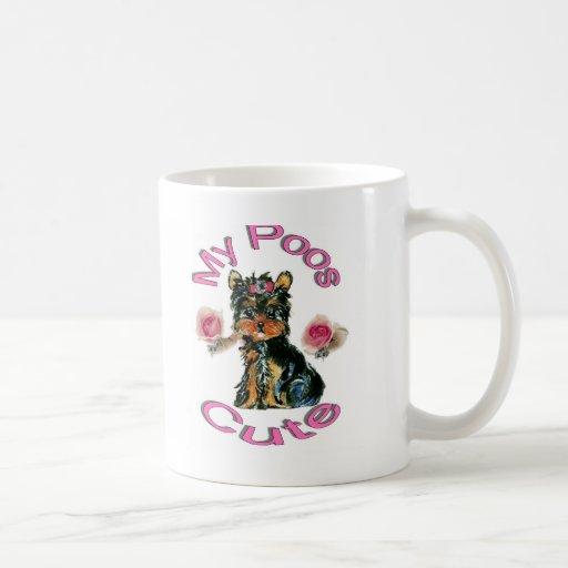 Mi Poos lindo Taza De Café