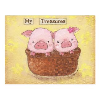 Mi postal de los tesoros