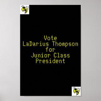 Mi poster de la elección