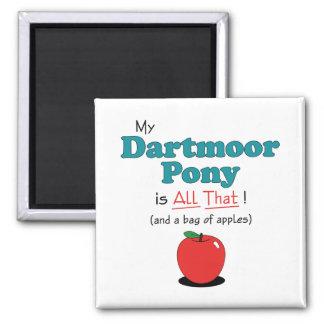 ¡Mi potro de Dartmoor es todo el eso! Potro divert Imanes De Nevera