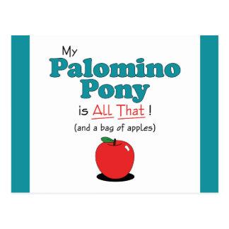 ¡Mi potro del Palomino es todo el eso! Potro Tarjetas Postales