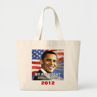 Mi presidente Barack Obama 2012 totes (de la bande Bolsa Tela Grande
