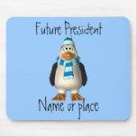 Mi presidente del futuro del niño tapete de ratones