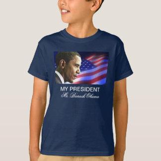 Mi presidente Sr. Barack Obama (patriótico) Playera
