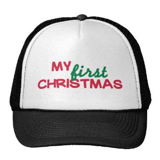 Mi primer 1r navidad gorros