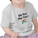 Mi primer Año Nuevo Camisetas