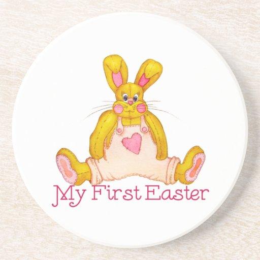 Mi primer conejito del país de Pascua Posavasos Manualidades