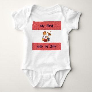 Mi primer cuarto de la camiseta infantil del playera