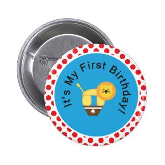 ¡Mi primer cumpleaños Botón Pin