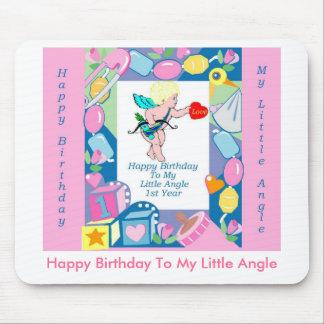 Mi primer cumpleaños del bebé, feliz cumpleaños tapete de ratón