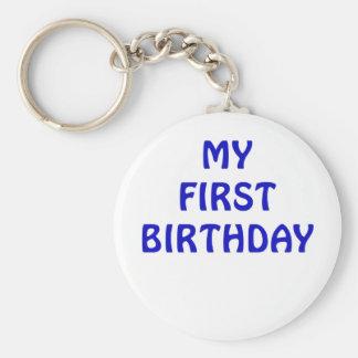 Mi primer cumpleaños llavero