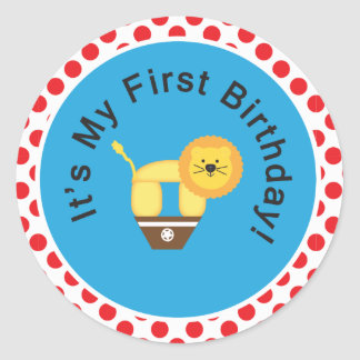 ¡Mi primer cumpleaños! Pegatina