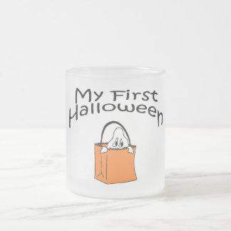 Mi primer fantasma de Halloween Tazas