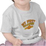 ¡Mi PRIMER HALLOWEEN! con la calabaza linda del be Camiseta