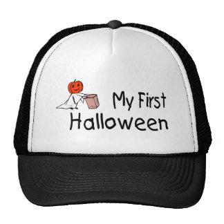 Mi primer Halloween truco o invitación Gorras