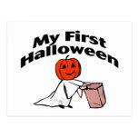 Mi primer Halloween (truco o invitación) Postal