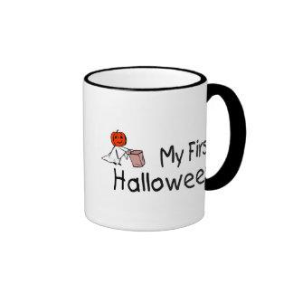 Mi primer Halloween (truco o invitación) Taza De Café