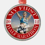 Mi primer maratón - 2012 ornamentos de navidad