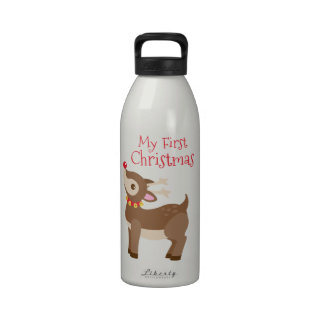 Mi primer navidad botellas de beber