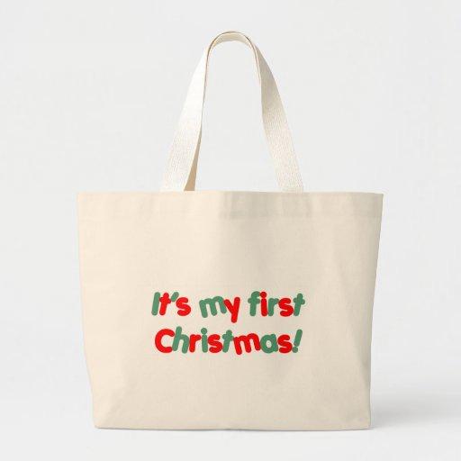Mi primer navidad bolsa