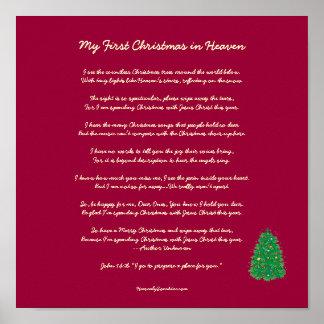 Mi primer navidad en cielo posters