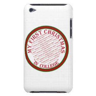 Mi primer navidad en plantilla del marco de la barely there iPod funda