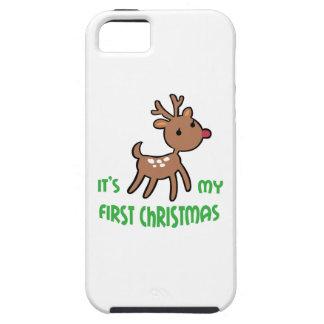 Mi primer navidad iPhone 5 Case-Mate fundas