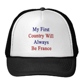 Mi primer país será siempre Francia Gorros