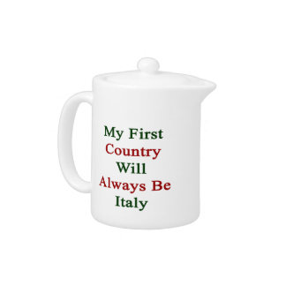 Mi primer país será siempre Italia