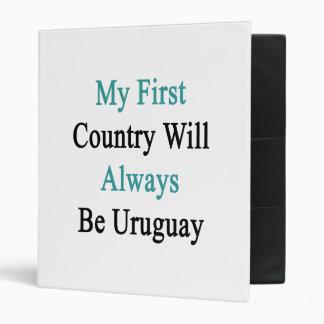 Mi primer país será siempre Uruguay