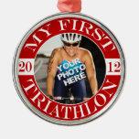 Mi primer Triathlon - 2012 Adorno Redondo Plateado