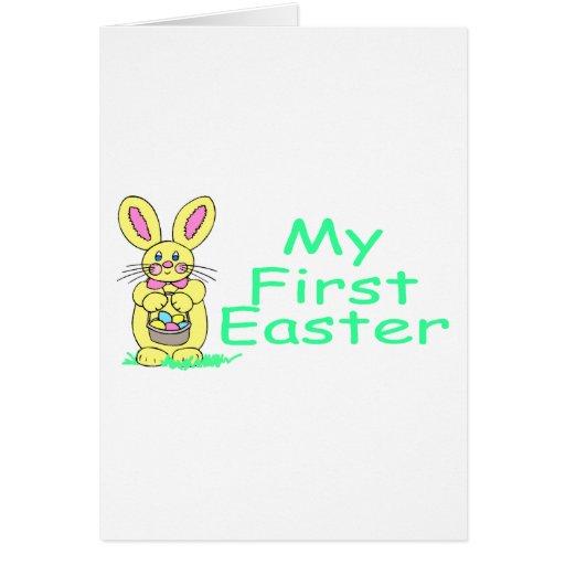 Mi primer verde de Pascua Felicitaciones
