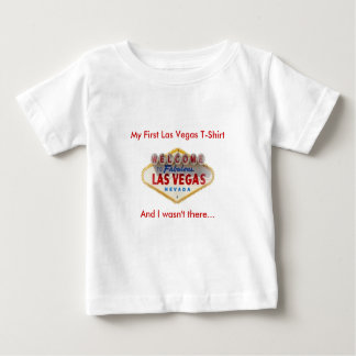 Mi primera camiseta de Las Vegas, y yo no éramos Playera Para Bebé