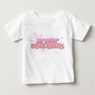 Mi primera camiseta del decreto de la danza playeras