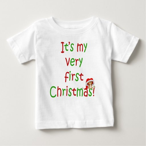 Mi primera camiseta del niño del navidad