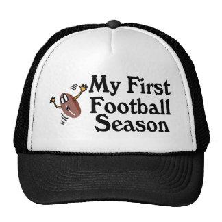 Mi primera estación de fútbol gorros bordados
