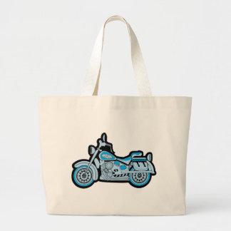 Mi primera motocicleta azul bolsa