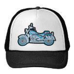 Mi primera motocicleta azul gorra