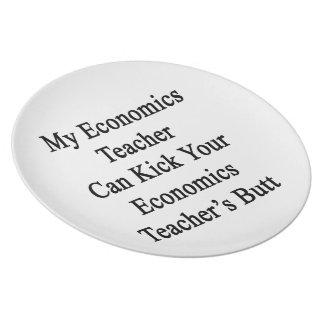 Mi profesor de la economía puede golpear su econom platos de comidas