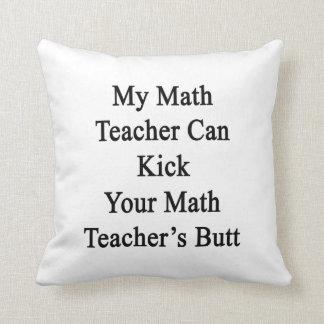 Mi profesor de matemáticas puede golpear el su ext cojines