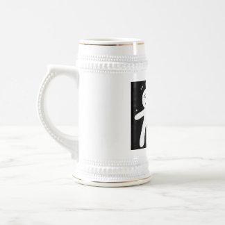 mi propia taza de cerveza