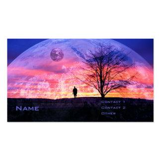 Mi propio universo tarjetas de visita