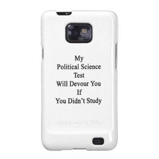 Mi prueba de la ciencia política le devorará si samsung galaxy s2 carcasas
