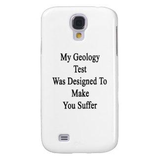 Mi prueba de la geología fue diseñada para hacer funda para galaxy s4
