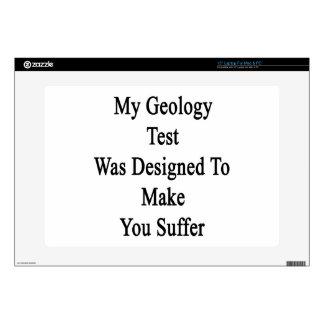 Mi prueba de la geología fue diseñada para hacer skins para 38,1cm portátil
