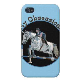 Mi puente del caballo de la obsesión iPhone 4 cárcasa