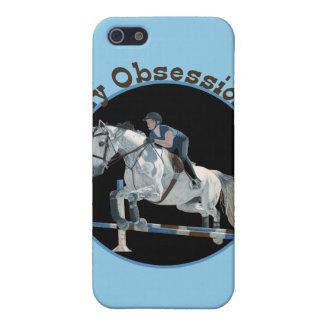 Mi puente del caballo de la obsesión iPhone 5 cárcasas