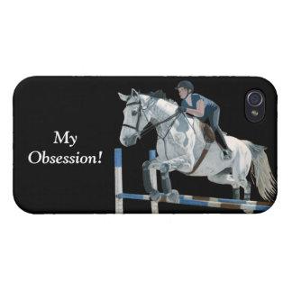 Mi puente del Equestrian de la obsesión iPhone 4/4S Carcasa