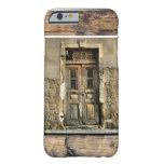 Mi puerta de madera vieja funda de iPhone 6 barely there